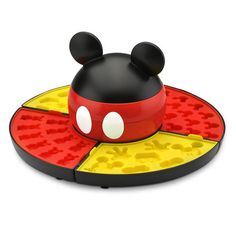 Mickey turns candy maker with this tempting treat creating kit that allows you to conjure-up homemade gummies, chocolates, and candies in the shape of our favorite Mouse.