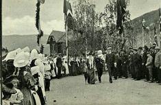Fra Kroningsreisen 1906 Gudbrandsdalen, fra OTTA