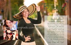 high school senior yearbook ad ideas | Want an amazing, custom personalized senior yearbook tribute/ad? Just ...