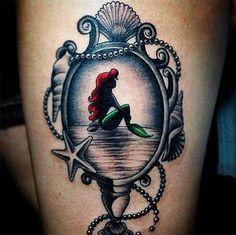 Tatu Ariel espejo