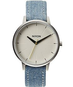 Kensington Leather Watch, $125, Nixon