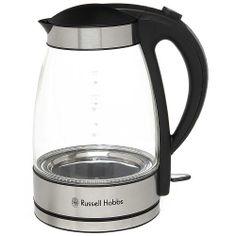 Russell Hobbs Glass Kettle 15082 Russel Hobbs, Kitchen Appliances, Glass, Kettles, Home Decor, Water, Diy Kitchen Appliances, Gripe Water, Home Appliances
