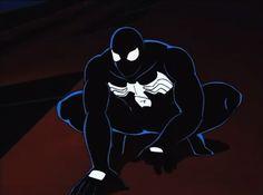 Black Spiderman, Spiderman Art, Spectacular Spider Man, Freestyle Rap, Spider Verse, Animation Series, Venom, Character Design, Darth Vader