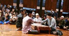 MASYA ALLAH ! Yakin Islam Agama Yang Cocok Baginya, Mahasiswa Jepang Ini Putuskan Jadi Mualaf Di Masjid Salman ITB