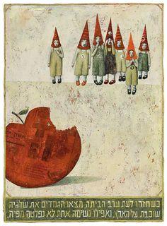 wandering storytellers: illustration - ofra amit