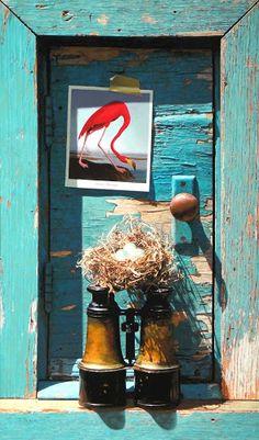 trompe l'oeil - Debra Teare (American artist, one of the most successful trompe l'oeil painters today, born 1955).