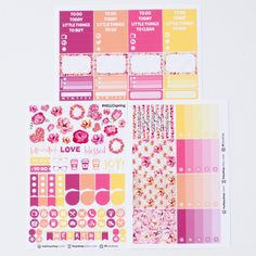 Hello Spring (Bonanza + Jumbo Kits + A La Carte)  | ECLP Vertical by FasyShop on Etsy