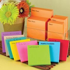 Colorful Dozen Notepad Collection