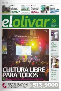 """Periódico """"El Olivar de San Isidro"""" N° 7 - Agosto 2015"""