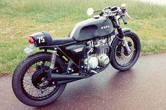 1975 Honda CB500 Cafe Racer. Someday.