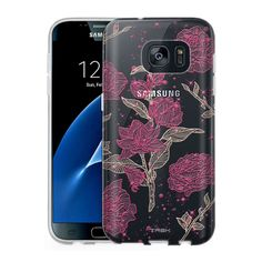 Samsung Galaxy S7 Clear Case - Stardust Roses