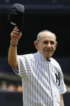 """Yogi Berra - Following Monday's disclosure by Jason Collins of the NBA that he is gay, Berra threw his support behind Collins.  """"Respect the game, respect others -- that's what I always learned in sports,"""" Berra said in a statement released by the Yogi Berra Museum & Learning Center.  which is collaborating with Athlete Ally. Click through to Athlete Ally - A resource to encourage athletes, coaches, parents, and fans to respect all individuals involved in sports."""