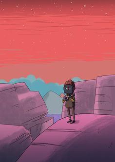 Ukulele in the desert by IndianaJonas on DeviantArt