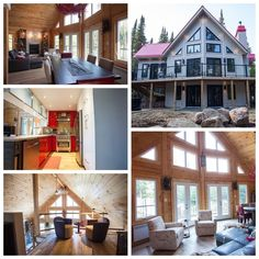 Home of the Week!  Thanks to Timber Block's ability to not only customize, but offer so many different choices in profile, stains and colors, results in homeowners truly living their dream. Find out just how easy it is to get started: Contact us at 866-929-5647, email infonc@timberblock.com or visit www.timberblock.com