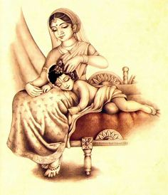 little Krishna sleeps Arte Krishna, Krishna Leela, Radha Krishna Images, Krishna Radha, Krishna Photos, Lord Krishna, Krishna Pictures, Durga, Krishna Drawing