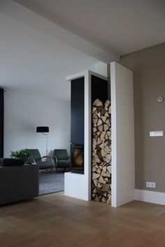 Former farmhouse - modern - living room - amsterdam - by Interior Issues Interieurarchitect Rotterdam