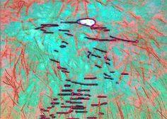 'DmH beim Feuerwerk' von Peter Norden bei artflakes.com als Poster oder Kunstdruck $20.79