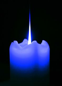 whenever there is a need for prayer... a blue candle is lit.