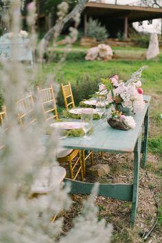 Photography: Mint Photography - mymintphotography.com  Read More: http://www.stylemepretty.com/southwest-weddings/2014/04/21/monet-inspired-photo-shoot/