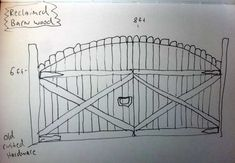 DIY Wooden Driveway Gate | wood gate reclaimed wood Help Wanted: Design Ideas for a Driveway Gate