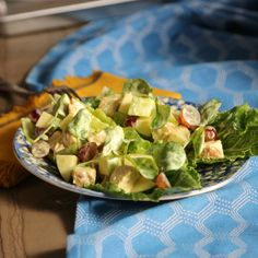 Chicken Salad with Apples and Grapes By Valerie Bertinelli