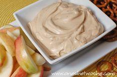 Peanut Butter Yogurt Dip ~ Another Easy Superbowl Appetizer