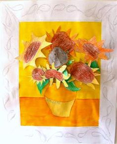 Good Morning Mrs. Rubie: Van Gogh's 'Sunflowers' - Art Lesson Freebie...