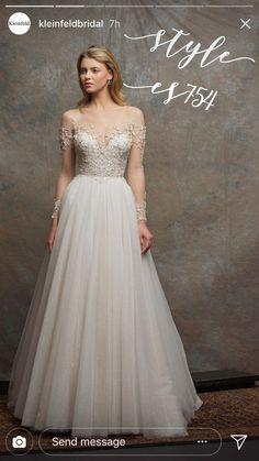 Wedding dress from Kleinfelds NYC