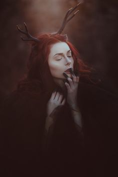 Savannah | Adrienne McNellis | Flickr Imagenes Dark, 3 4 Face, Foto Portrait, Fantasy Photography, Witch Aesthetic, Dark Beauty, Photoshoot Inspiration, Wiccan, Witchcraft