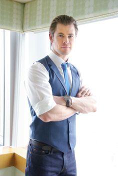 Chris Hemsworth, Japan, February 2014