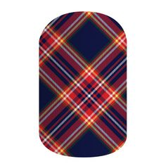 Tartan - Wear as an accent or as a full mani, this plaid wrap in a matte finish is the perfect fall accessory.      #TartanJN Jamberry Nail Wraps