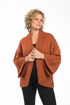 Ravelry: Kimono pattern by Plymouth Yarn Design Studio.    Got the pattern.  Got the yarn.  Need the motivation.