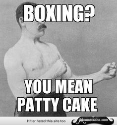 Overly Manly Man: Boxing?...