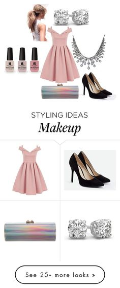 """""""prom?"""" by fashionbaby017 on Polyvore featuring Chi Chi, Jimmy Choo, JustFab and Victoria's Secret"""