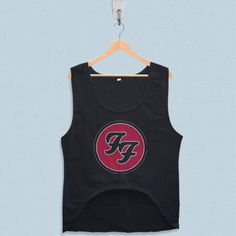 Women's Crop Tank - Foo Fighters Logo Design with low price!Style Deals - We're always on the hunt for elevated basics, like this sleeveless top. It has a boxy cropped fit that will complement high-waisted skinny jeans and pencil skirts... Crop Tank, Tank Tops, Summer Design, Foo Fighters, Pencil Skirts, Tank Man, Logo Design, Skinny Jeans, Fit