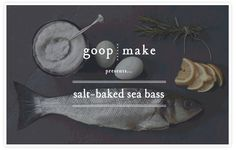 Salt-baking the sea bass makes for an impressive presentation and also keeps the fish super moist. Serve with our crispy lemon potatoes, and some good olive oil, lemon and parsley to garnish.