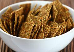 Thai Flax Crackers