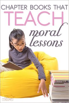I'm always looking for more great books for my kids to read. But I'm careful to help them guard their hearts. Looking for more great chapter books that teach beautiful moral lessons? You'll love these!