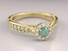 16 anel-uni-princess-esmeralda-amarelo-18k Alianças De Noivado, 5d13578377