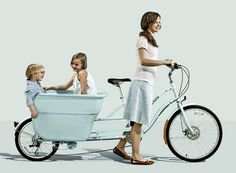 Madsen Cargo bike. Kai and Ned I could totally see having one of these.