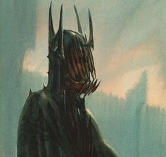 Concept for the Mouth of Sauron