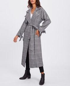 Пальто в клетку женское   -60%