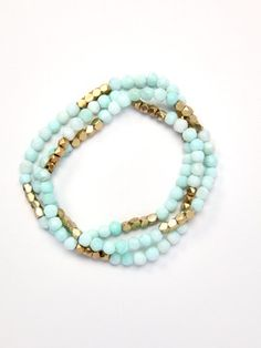 I need this beaded bracelet. Blast those one time sales at Gilt.