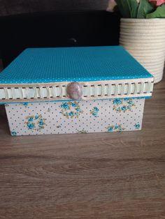 Caixa pequena  Azul