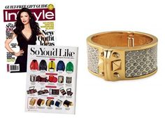 As Seen In InStyle Magazine Bello Bangle from Stella and Dot