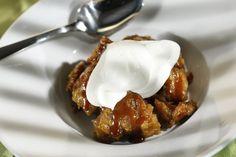 Do you like bananas Foster? Then you'll love this. Recipe: Caramel banana bread pudding