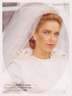 Archduchess Sophie of  Austria née Princess Windisch Gratz