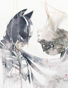 The Dark Knight Rises - Batman and Catwoman