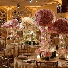 The Beverly Hills Hotel, a magnificent setting for a wedding reception