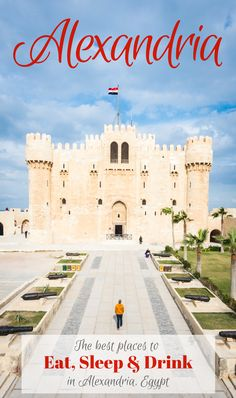 Guide to Alexandria, Egypt including the best places to eat, sleep, and drink by Wandering Wheatleys (@wanderingwheatleys) #Alexandria #Egypt #Mediterranean #MiddleEast #Africa #CityGuide #Travel